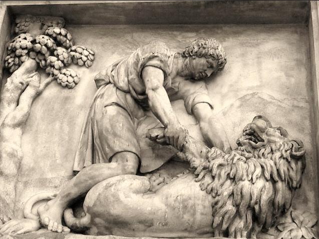Androcles y el León.