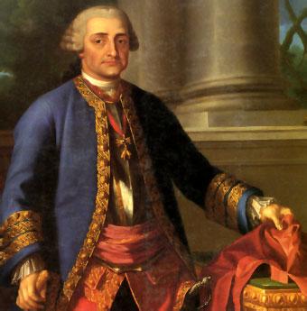 Pedro Pablo Abarca de Bolea, Décimo Conde de Aranda.