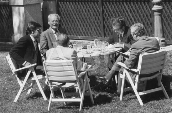 Felipe González, Willy Brandt y Kreisky