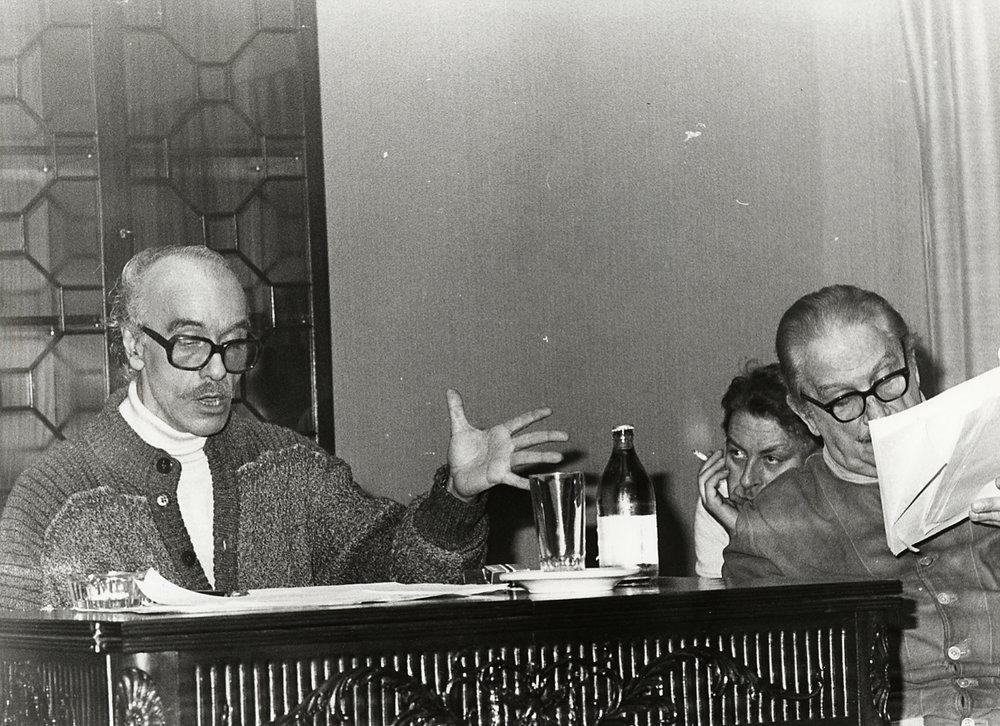 Lectura de Coronada y el toro por su autor, Francisco Nieva.