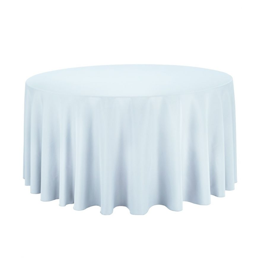 120rd 010171 120 In. Round Polyester Tablecloth Baby