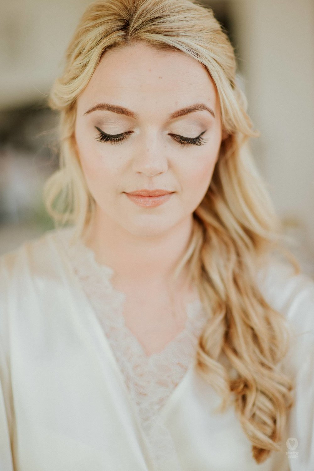 Bridal Hair - Loose Curls and Waves