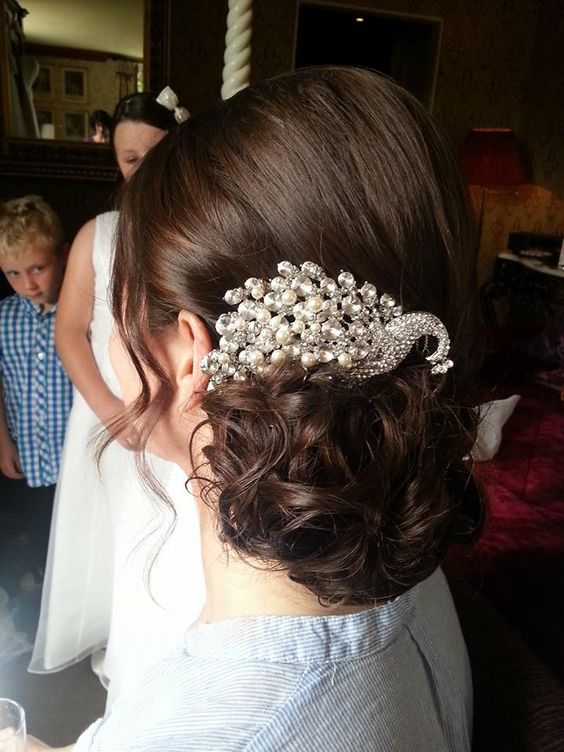 bridal hair the madeup team swan pin.jpg