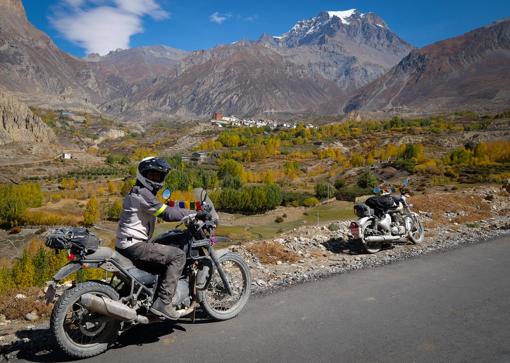 The village of Muktinath and the Buddhist monastery at Jarkhot are amazing places to visit. The road to get there is extremely rough. Only a select few CLEAN DRINK teams get to travel to this isolated location high in the Himalayas. Positioned at over 12,000 feet, it will take your breath away.