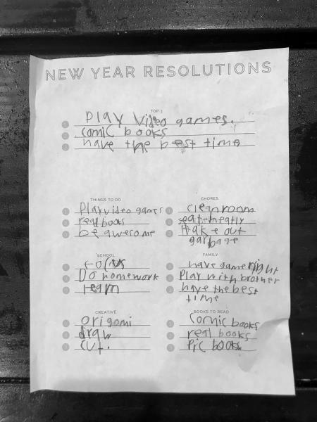 Micah Resolutions