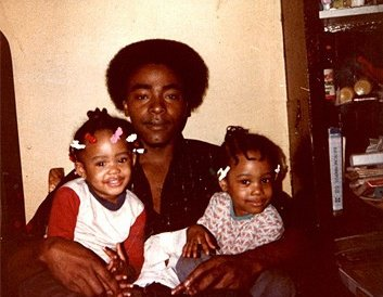 My dad, sister and I