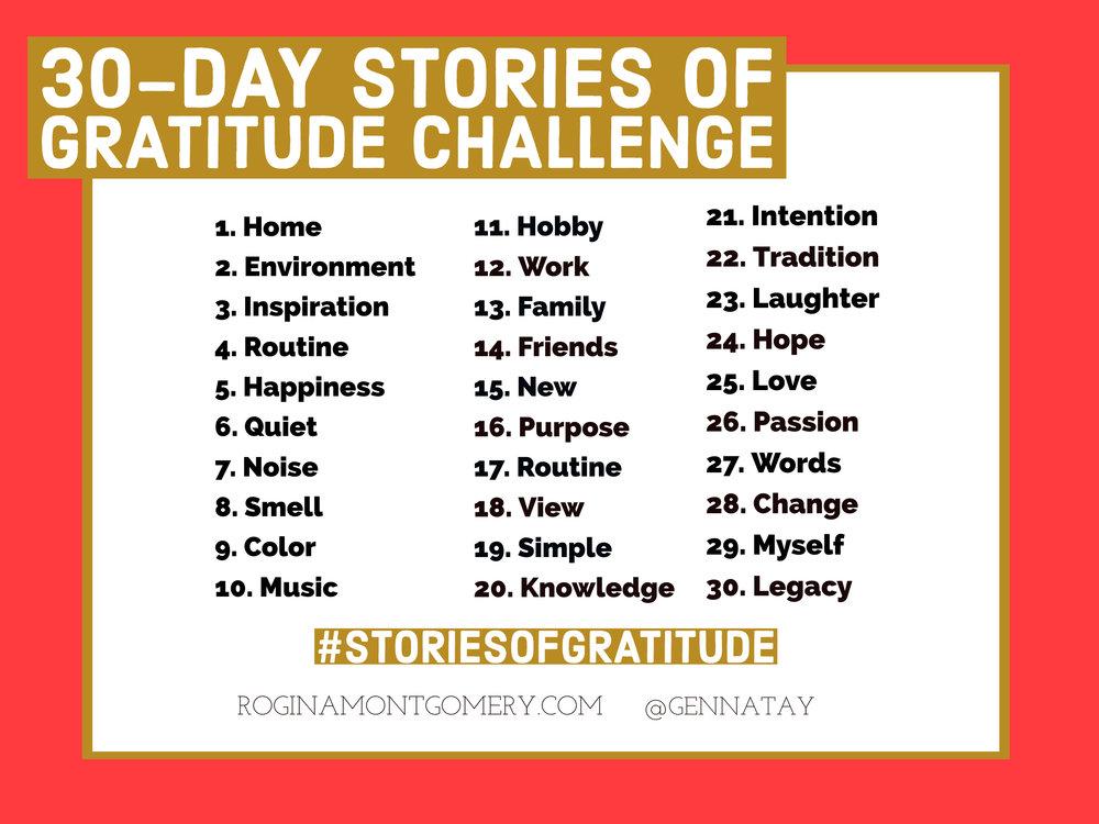 Stories of Gratitude