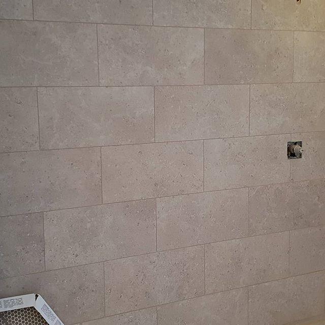 250 sqft of shower walls