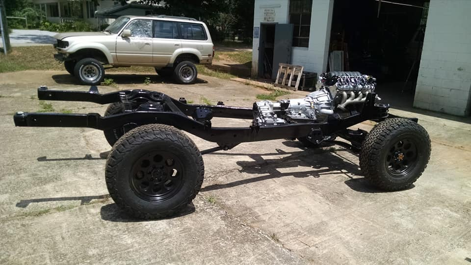 Not your average FJ60 chassis and powertrain