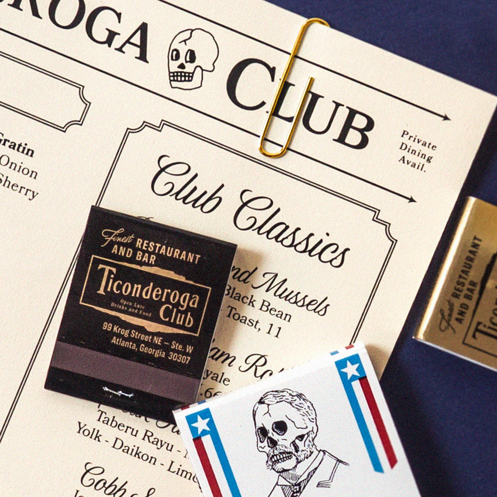 TICONDEROGA CLUB - Full Brand Identity