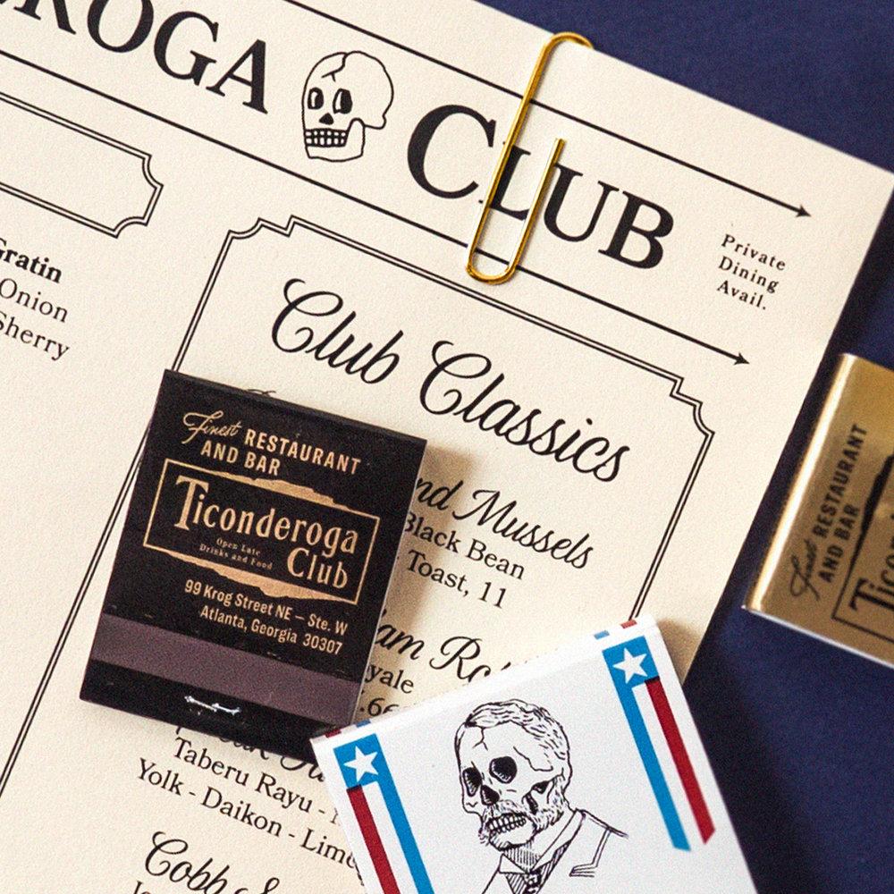 TICONDEROGA CLUB - Full Brand Identity