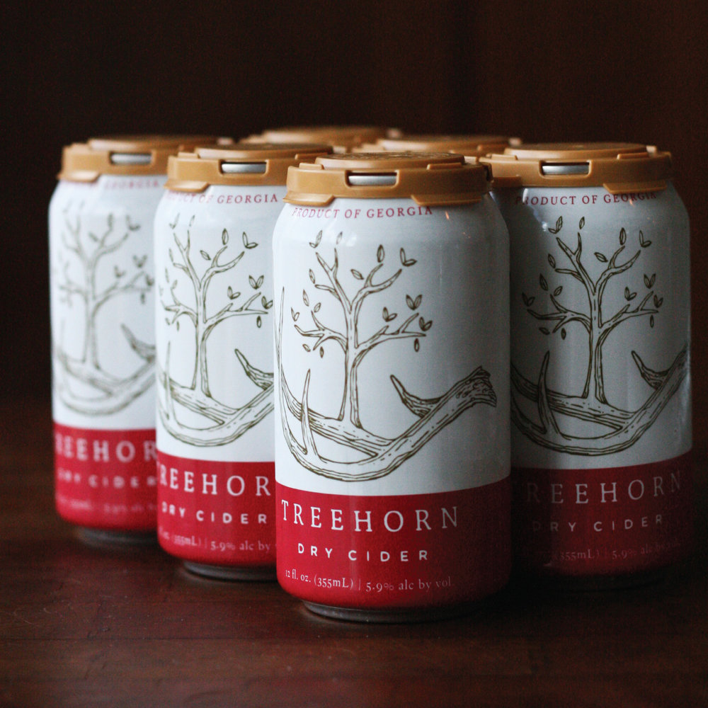 TREEHORN CIDER - Brand Identity, Packaging