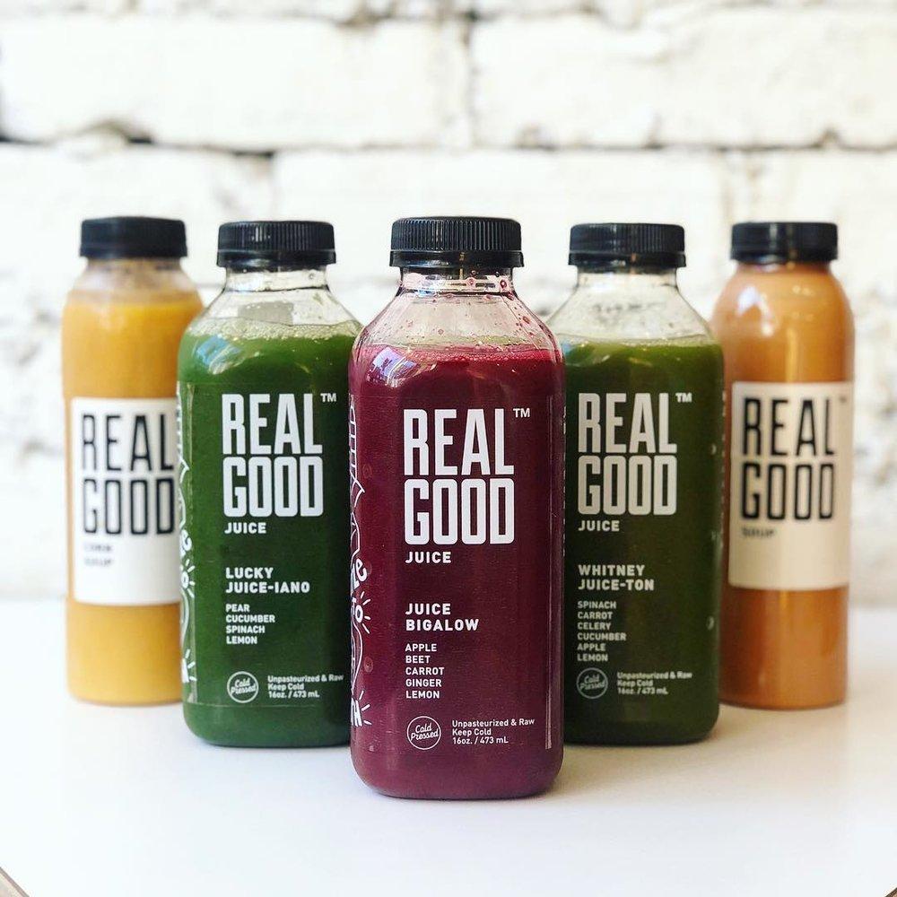 REALGOOD STUFF CO. - Brand Refresh & Environmental