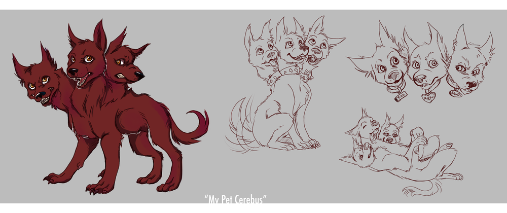 """My Pet Cerebus"" Concepts"