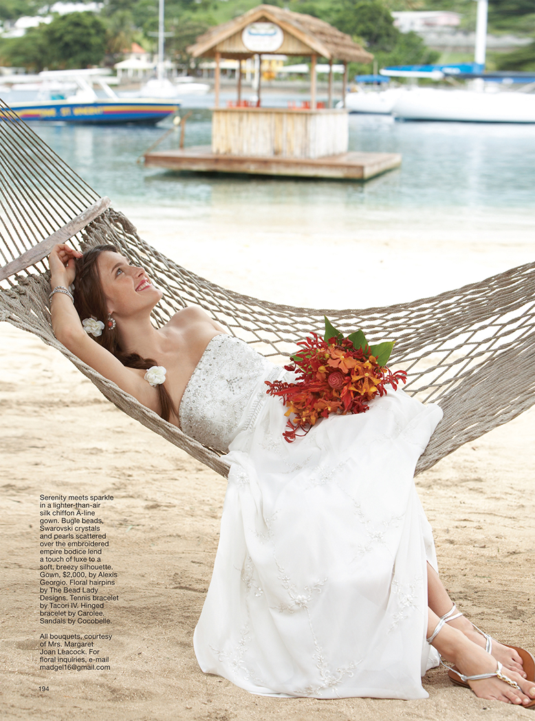 St. Vincents bridal editorial