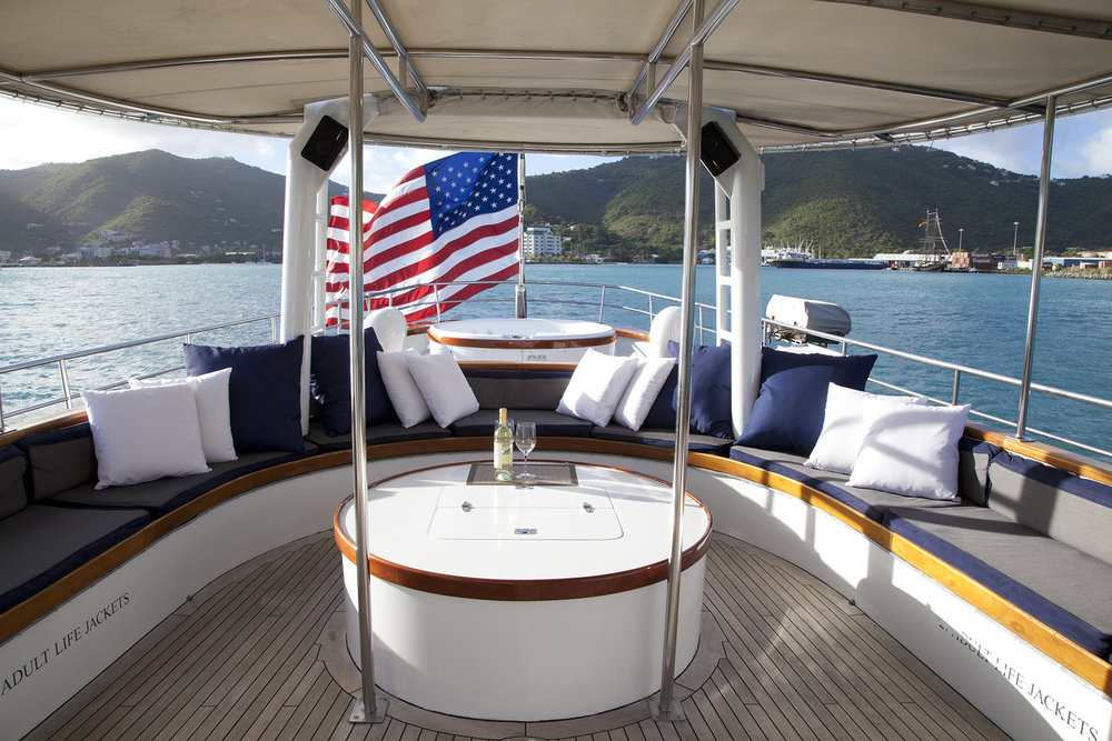 Arabella, Manhattan Yacht Club, BVI's