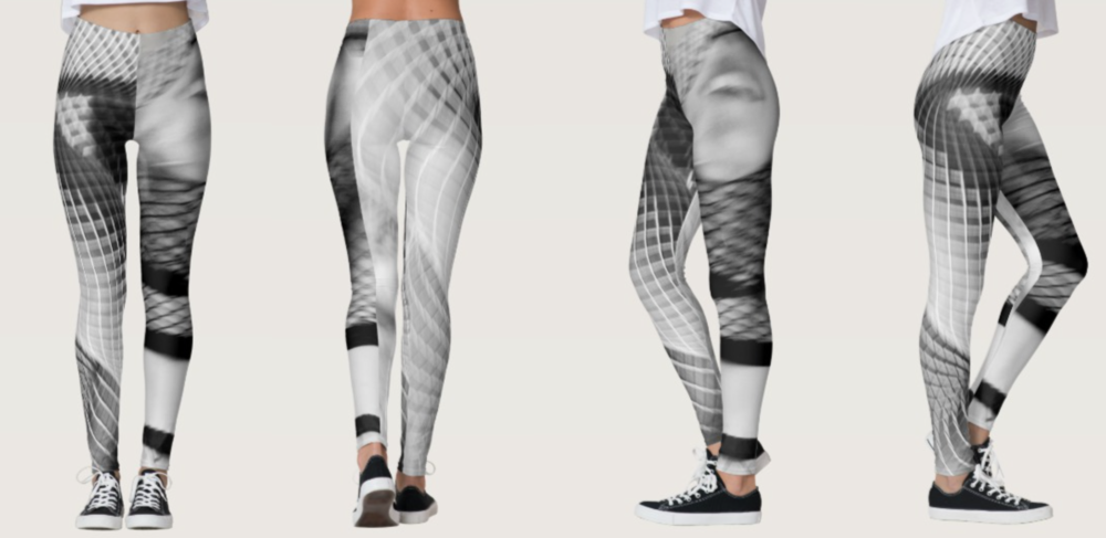 Fishnet Style Leggings Now$35.68 with discount at Zazzle checkout