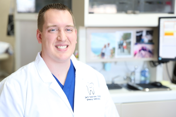 Dr. Jack Swartout - Dr. Swartout graduated from Indiana University School of Dentistry in 2017. He attended Wabash College and obtained a Bachelor of Arts in Biology in 2012. He is a member of the American Dental Association, Indiana Dental Association, and Indianapolis District Dental Society.Dr. Jack lives in Brownsburg with his wife Megan, a 1st grade teacher at Cardinal Elementary School, and his three daughters. He enjoys spending time with his family and relaxing to a good movie.