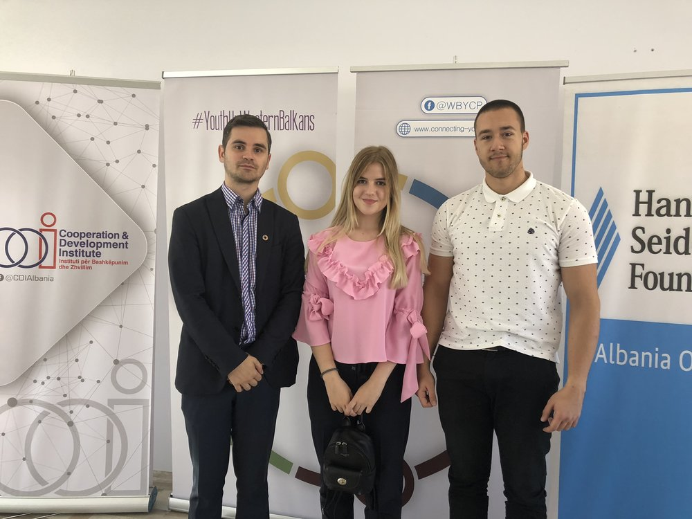 """Delegation from Bosnia and Herzegovina at """"Voice UP"""" Western Balkans Youth Forum"""
