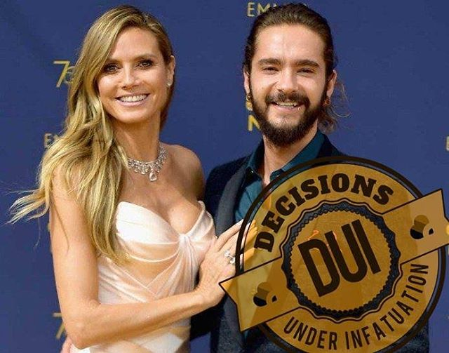 "Celebrity DUI: Heidi Klum and Tom Kaulitz  It's important to remember that celebrities are people too and that we shouldn't place them on a pedestal because they're famous. The truth is, they're just as likely as anyone else to make mistakes in love. Even Justin Bieber made a statement recently that said: ""Hey world, that glamorous lifestyle you see portrayed by famous people on Instagram - don't be fooled thinking their life is better than yours I can promise you it's not!"" When it comes to America's Got Talent Judge Heidi Klum and Tokio Hotel guitarist Tom Kaulitz, we don't know them personally, but we do know that they got engaged in under a year of meeting each other. And while it's true we can't predict whether or not they will survive as a couple long-term, committing too early on in a relationship stacks the odds against all of us. So can we take this as an opportunity to talk about relationship DUIs (Decisions Under Infatuation)? A DUI occurs when we make a life-changing commitment to our partner while still in the stage of Infatuation. Infatuation can last up to a year, and sometimes even longer. And for those in long-distance relationships that began during this stage, Infatuation is then prolonged indefinitely until both people are in the same geographical location. Reason being, no matter how much time we actually spend with a person, or how much we think we know someone, it's not until we're out of Infatuation that the clock actually starts.  It's only after we have accumulated enough time and experience with someone day in and day out, that we can begin to see who they really are. It's important to discover how our partner copes with life's challenges, how they treat others, if they've done the work to heal their past, and whether or not they have a willingness to learn and grow. This is how trust is built - within both our partnership and the decisions we make."