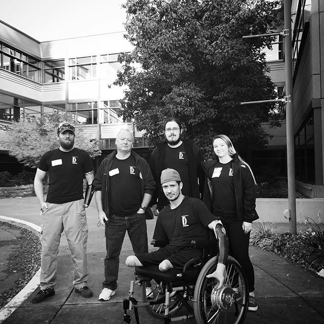 The warfighterengaged gang spent the past few days at @microsoft talking #accessiblegaming with @xbox people. It was an awesome time and we look forward to working more with them in the future in order to help make gaming more accessible for all! #gaming #xbox #give #wounded #woundedwarriors #accessibility #microsoft