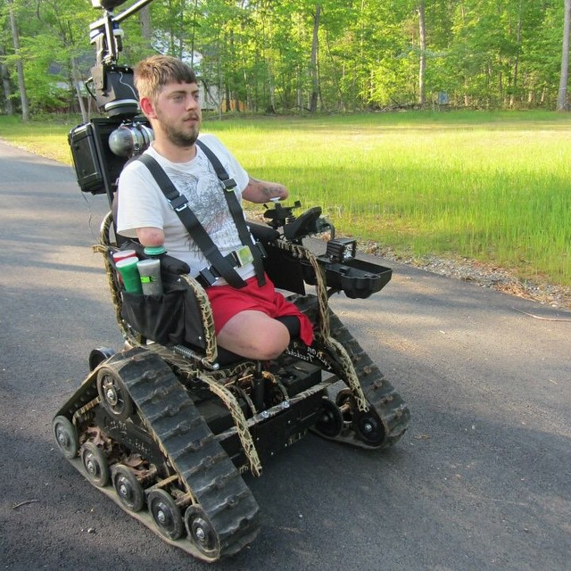 Check out the paintball Trackchair!  #Veteran #USMC #USNavy #USAirForce #ARMY #amputee #Hope #GivingEngaged