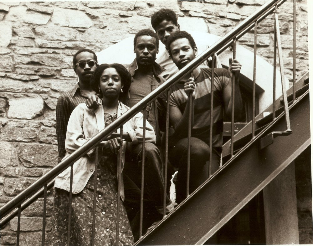 Parallels  1982, Danspace Project   Photo of Ishmael Houston-Jones, Harry Whittaker Sheppard, Christine Jones, Fred Holland, Ralph Lemon, 1982    photographer unknown
