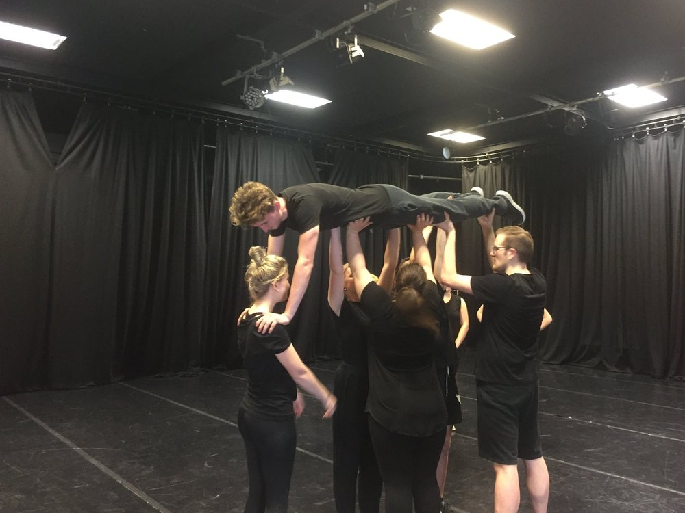 #IDEK Workshops - These are bespoke workshops, designed specifically with your context in mind. This work would be ideal for GCSE Drama specifications around devising work, BTEC devising theatre and performance, or BTEC Diploma movement for actors.