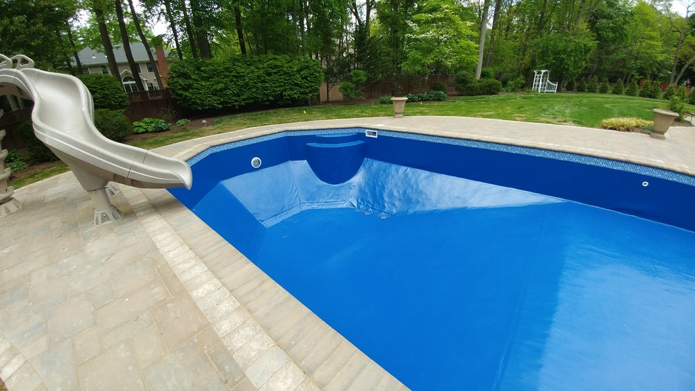 Incredible Flexibility - PoolHide is easily heat welded on-site and custom tailored to any shape or size pool.