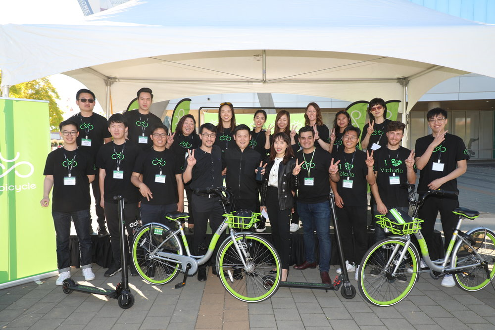 U-bicycle team that made it happen!