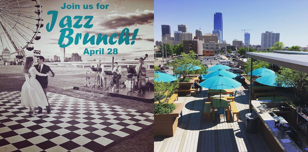 Jazz Brunch! - Start your Sunday morning off right by getting brunch at one of OKC's top restaurants, Packard's New American Kitchen, dancing to the music of local jazz group and some of our favorite friends, The Savoy Trio, and looking out at our wonderful city from Packard's rooftop! Even if you're not coming to the entire weekend of events, you're welcome to join us!