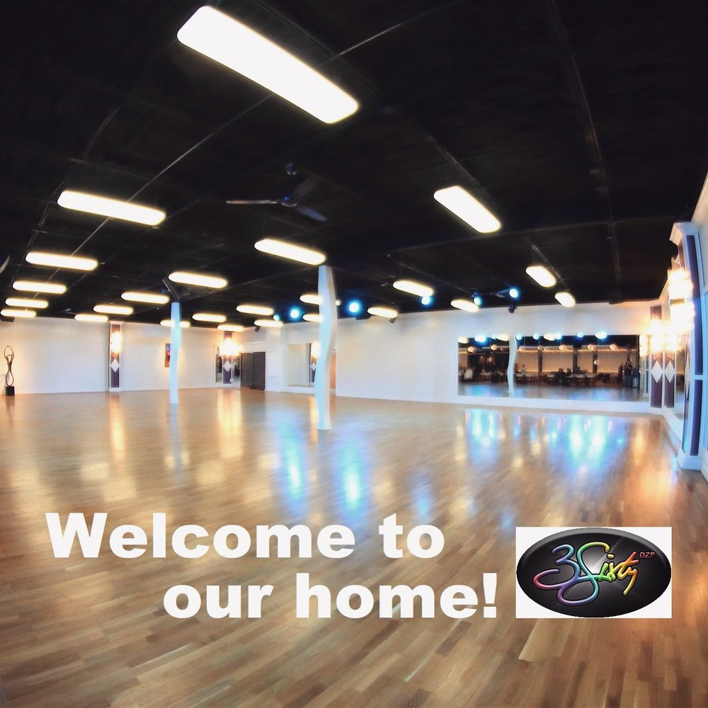 3Sixty Entertainment Powerhouse - 7312 Cherokee Plaza, Oklahoma City, OK 73132The Friday night and Sunday night social dances will be held at the home of Swingout OKC's regular Tuesday lessons and social dances! We love our home and can't wait to show it off!