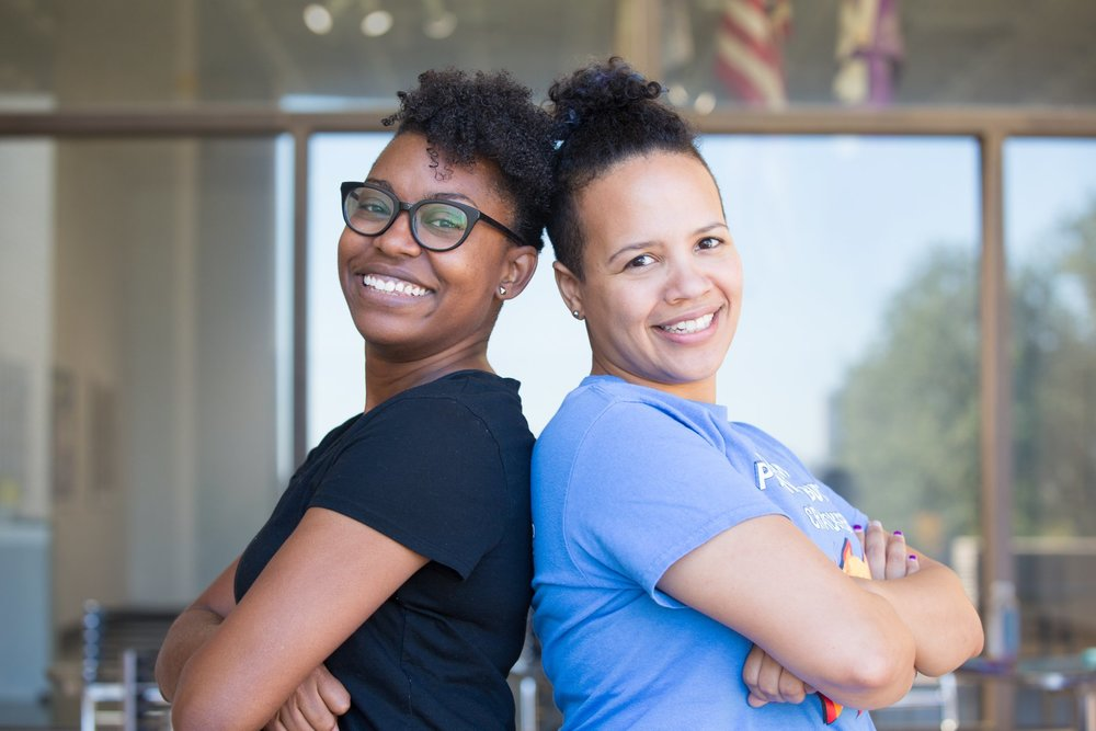 Michelle Stokes and Laurel Ryan - What began as a casual attempt to try something new quickly turned into a life-consuming passion. In the five years since she dove into lindy hop, Michelle has managed to attend at least six swing events per year, teach regularly in the Tulsa community, and join the board for the non-profit Vintage Swing Movement. She loves the physical creativity inherent to lindy hop, and its roots as a social dance. Michelle aims for her students to leave with a firm foundation in rhythm, momentum, and the fundamental shapes of swing dance. She emphasizes comfortable body movement and strong rhythm over the look of the steps. As a feel-food dancer, Michelle hopes to inspire other to get on the social floor no matter what their experience and to be unafraid to ask anyone, of any skill level, to dance. She also encourages dancers not to take themselves too seriously, and will back that up with antics and loud noises.Laurel fell in love with swing music nearly three decades before she threw herself into the dance. Soon after her first lindy hop crash course Laurel was attending every event she could reach across the Midwest, jonesing for another dance to a live band. Laurel's background as a teacher and world traveler serves to fuel her passion for learning and teaching swing dance. She nerds out on putting educational theory into practice to better serve her dance students. Her passion for diversity on the social floor helps her encourage dancers to be themselves. Laurel's goal is to help preserve lindy hop's roots as a social street dance while re-translating partner roles for continued relevance in modern culture.