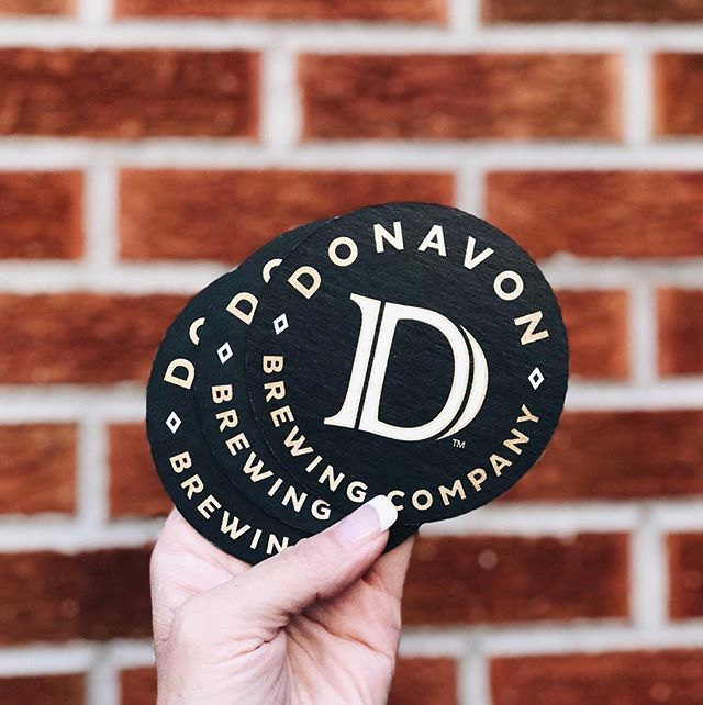 Thanks to @anthembranding for the awesome logo! We've now got coasters and are so close to selling our beers! . . . . . #craftbeer #coloradobeer #donavonbrewing #beer #AnthemBranding