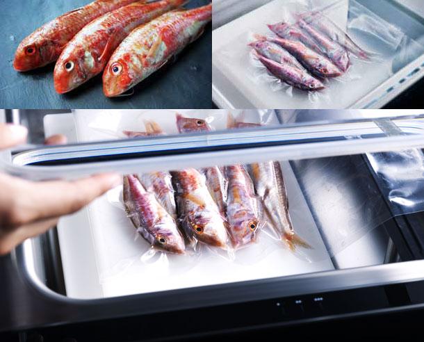 Μέγιστο Vacuum - Το ιδανικό πρόγραμμα για τη συσκευασία υπό κενό στερεώντροφίμων, όπως ωμά λαχανικά, σκληρό τυρί, καθώς και για την προετοιμασία φαγητού για τέλειο μαγείρεμα σε sous-vide.