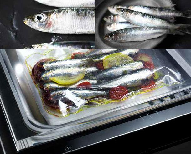 Μαρινάρισμα - Αυτό το πρόγραμμα χρησιμοποιείται για να μαρινάρετε τέλεια τα τρόφιμα. Το κενό που δημιουργείται σε αυτόν τον κύκλο εξασφαλίζει ότι το λάδι και τα μπαχαρικά σε μια σακούλα που περιέχει κρέας, ψάρι ή λαχανικά απορροφώνται γρήγορα ώστε να αρωματιστούν τα τρόφιμα. Κατά μέσο όρο το μαρινάρισμα διαρκεί 5 λεπτά, αλλά ο χρόνος μπορεί να κυμαίνεται από 1 έως 15 λεπτά ανάλογα με την κοπή του κρέατος ή το μέγεθος των ψαριών.