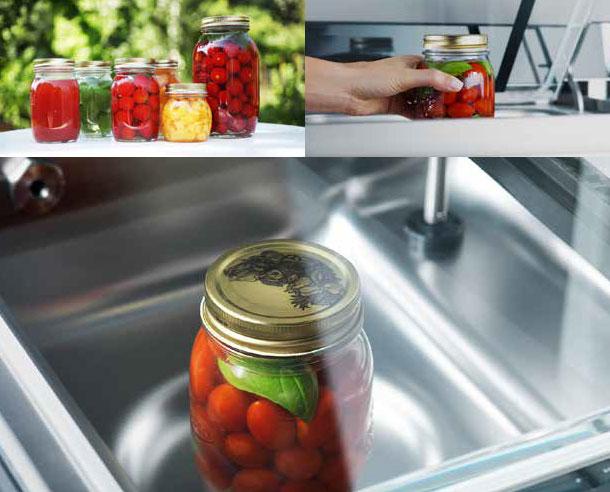 Υγρά - Το πρόγραμμα κενού για υγρά χρησιμοποιείται για τη σφράγιση σακουλών που περιέχουν ψυχρά υγρά, όπως σούπα, σάλτσεςή μαρμελάδες. Είναι σχεδιασμένο για να σας βοηθήσει να δημιουργήσετε ένα προσωπικό απόθεμα εποχιακής μαρμελάδας ή άλλων φρούτων και λαχανικώνΕίναι η ιδανική λειτουργία για τις μητέρες που θέλουν να ετοιμάσουν το δικό τους βρεφικό και παιδικό φαγητό.