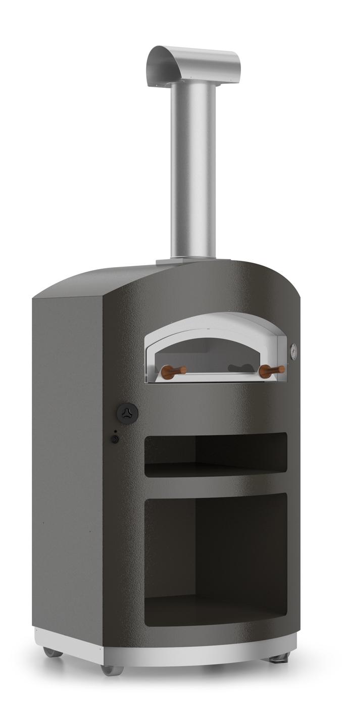Gastone - Ο Gastone είναι ένας κομψός φούρνος πίτσας αερίου που θα κάνει τη διαφορά στο μαγείρεμα και στην επίπλωση σας. Μοντέρνος σε στιλ, με τις σύγχρονες γραμμές του και τον αρμονικό σχεδιασμό, οGastone βοηθά να κάνει το σπίτι σας πιο μοναδικό. Ο ανοξείδωτος χάλυβας είναι βαμμένος στο γκρίζο του διαμαντιού. Μέσα, ο κλασικός όροφος σε υψηλής ποιότητας πυρίμαχο τούβλο κάνει για το μαγείρεμα που δεν μπορεί να κτυπηθεί. Βγαίνει σε έκδοση, είτε εσωτερικού χώρου, είτε εξωτερικού.