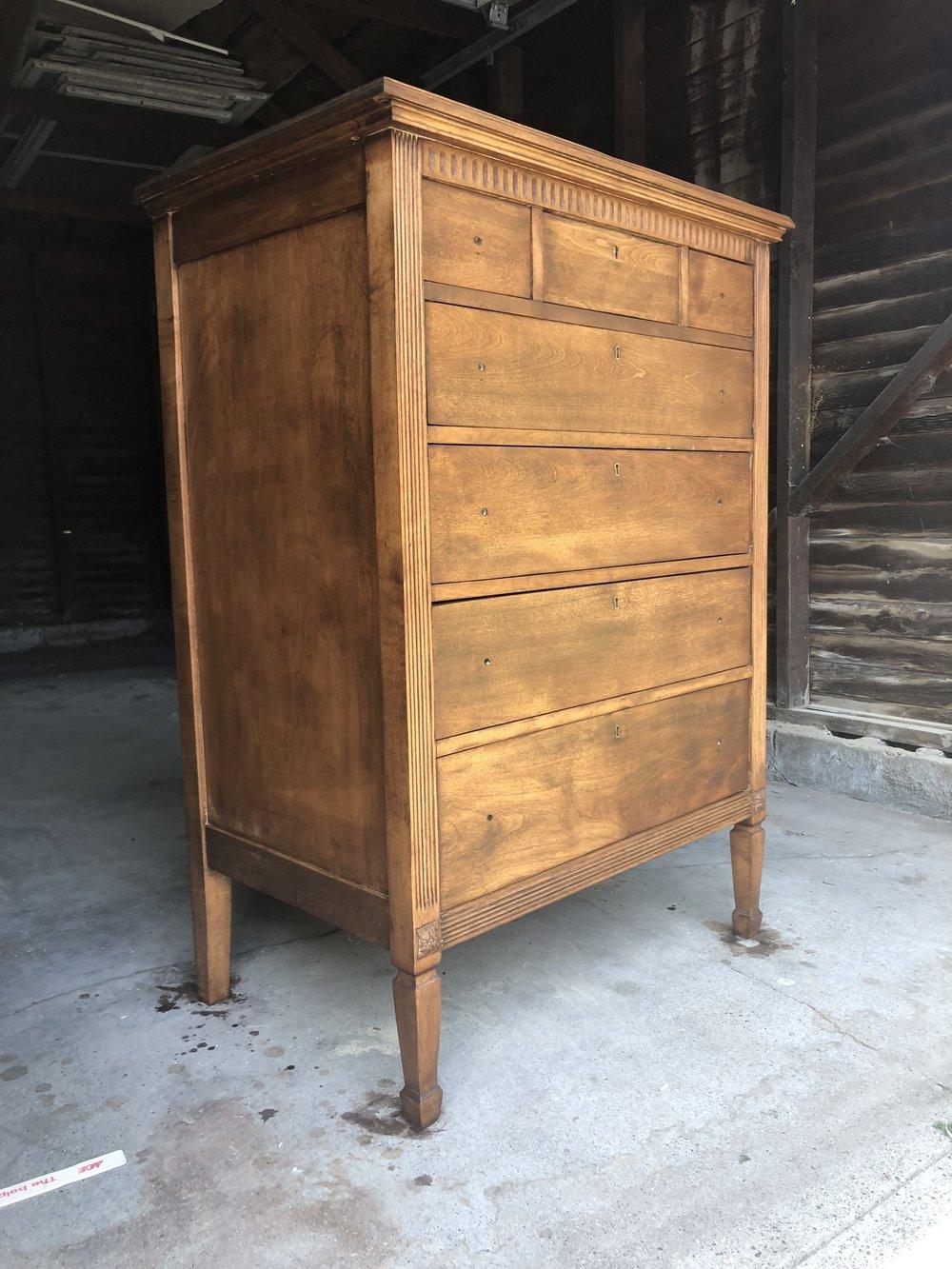 ravivé - four coats of stain - 1920s dresser
