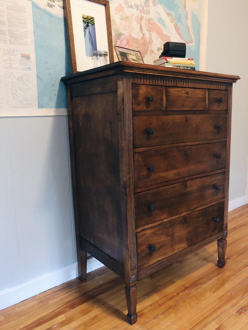 ravivé - finished 1920s dresser