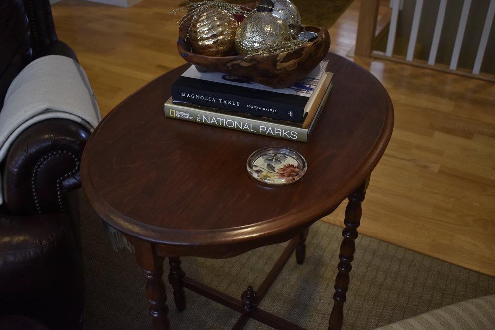 Styled table - Ravivé Restoration
