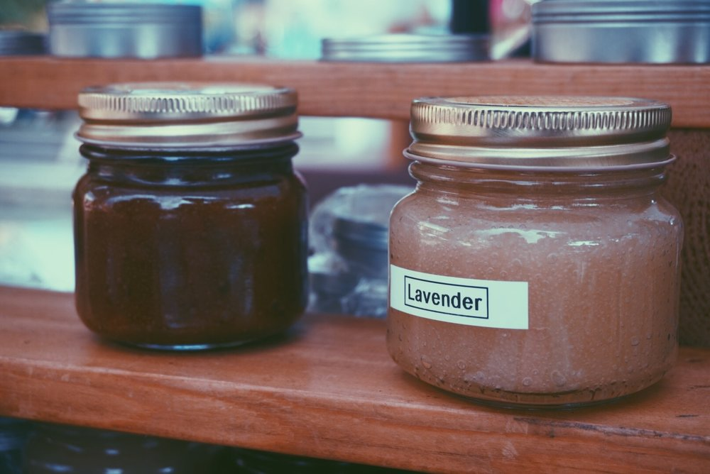 body scrubs from  Louisiana Honey & Beeswax