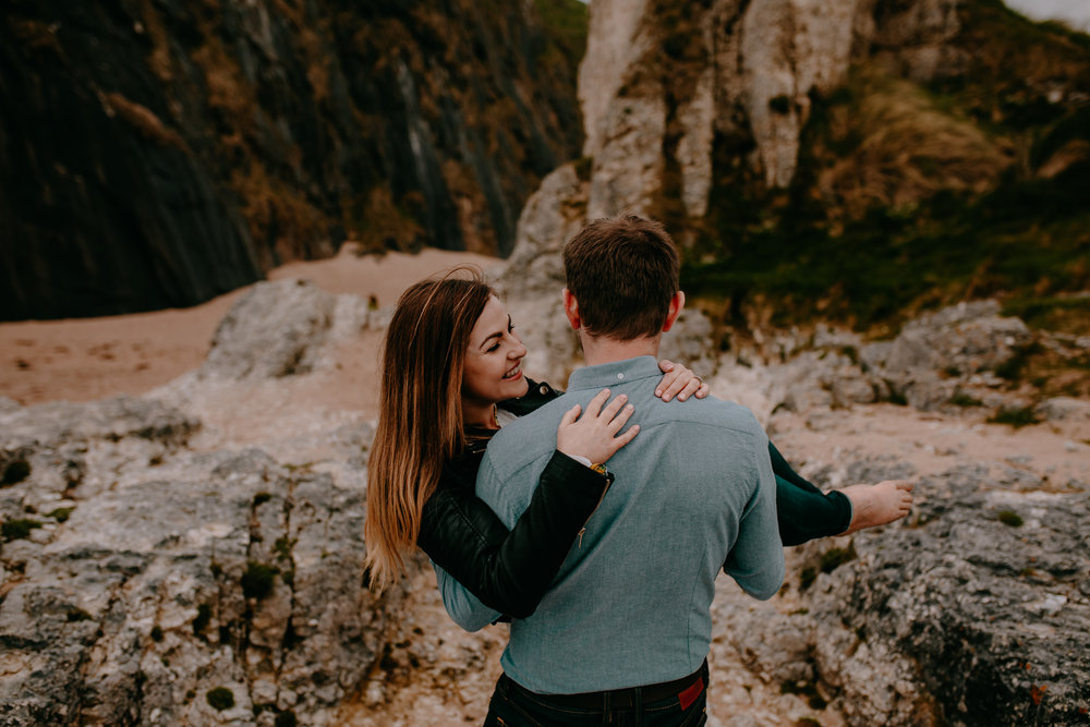ballintoy-elopement-fun-engagement-photographers-northern-ireland-the-martins