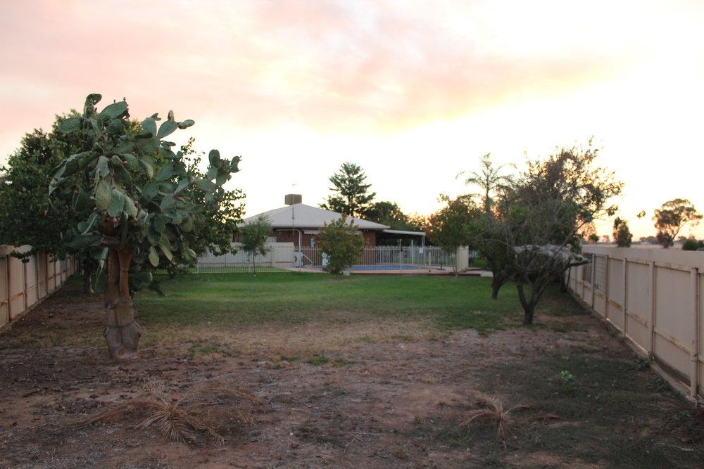 Belle Rose - Backyard Area