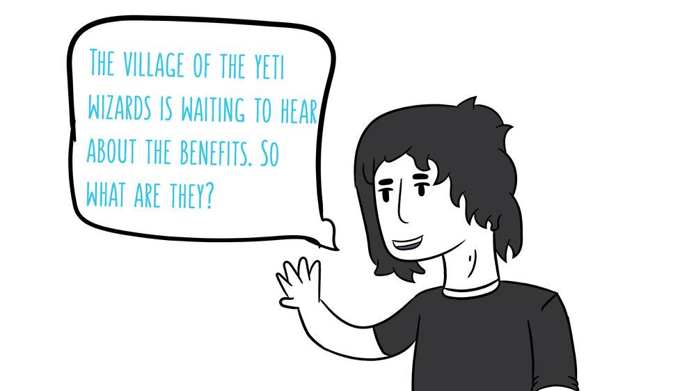 Benefits to illustrators
