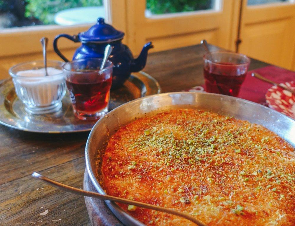 Kanafeh at Sufra