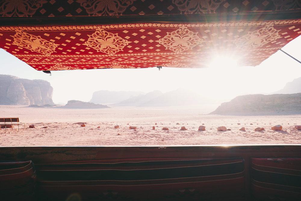 Wadi Rum Bedouin Camp Tent