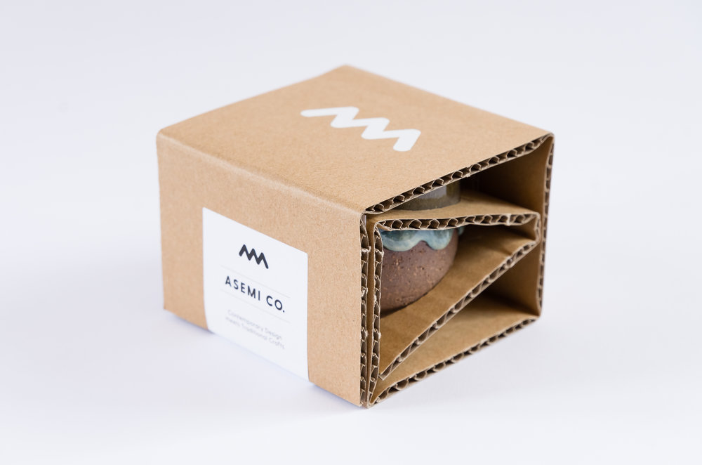 Artisan Asemi Co Packaging