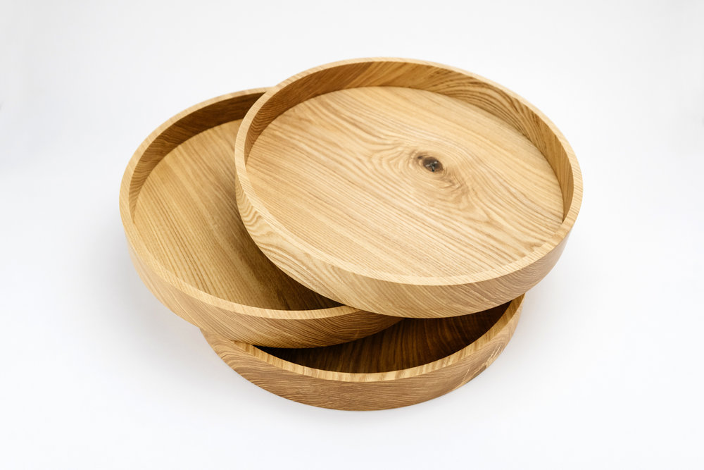 Ginger Wood Asemi Co Tray
