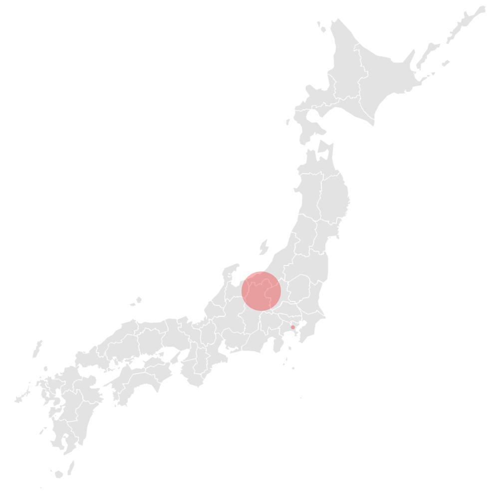 Map Nagano Asemi